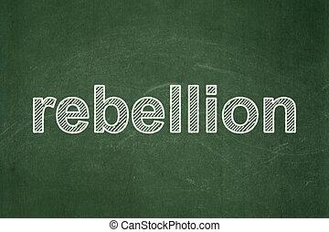concept:, 政治, 黑板, 背景, 叛亂