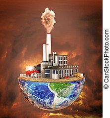 concept., 植物, 汚染, planet., を除けば, 半分