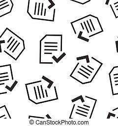 concept., 点検, 白, 合意, パタパタという音, 平ら, seamless, 文書, 隔離された, ...