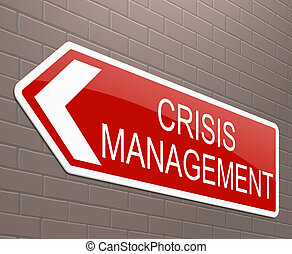 concept., 管理, 危機