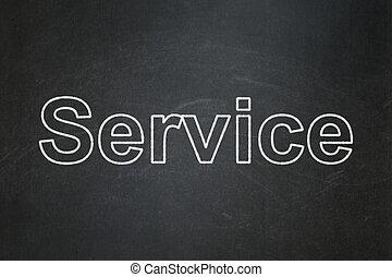 concept:, 背景, サービス, ビジネス, 黒板