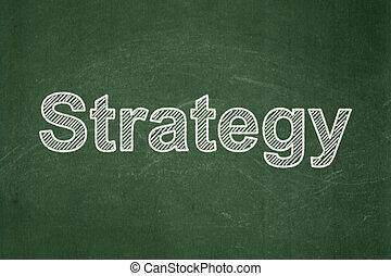 concept:, 背景, 黒板, ビジネス戦略