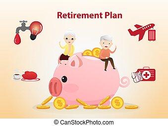 concept., 退職 計画