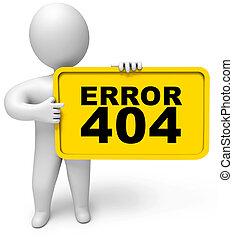 404 error - Concept 404 error on white background. Page not ...