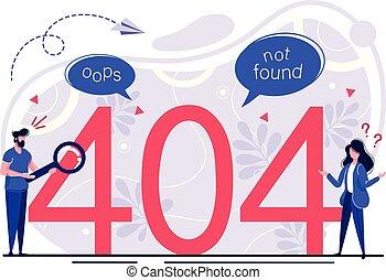 Concept 404 Error Page