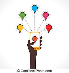 concept, aandeel, idee