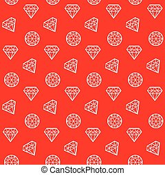 concept abstract geometry diamond seamless pattern. brilliant linestyle vector illustration for surface design