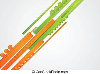 Concept abstract hi-tech vector background