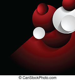 concept, abstract, vector, achtergrond