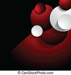 Concept abstract vector backdrop