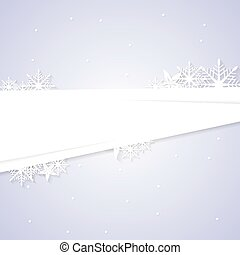 Concept abstract winter Christmas background