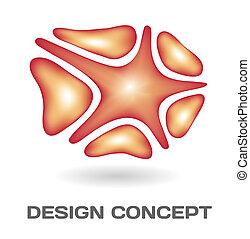 concept abstrait, conception