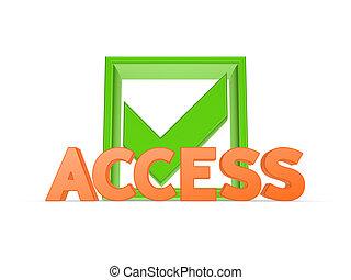 concept., accesso