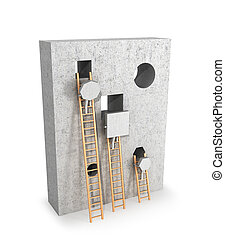 Concept achievement is not the right goal, the collapse. 3d...