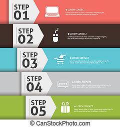 concept, achtergrond, een, vier, kies, jouw, 5, 4, mal, 2,...
