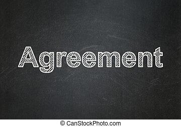 concept:, achtergrond, overeenkomst, zakelijk, chalkboard