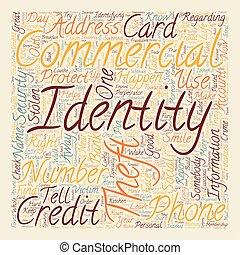 concept, achtergrond, tekst, commercieel, wordcloud, diefstal, identiteit