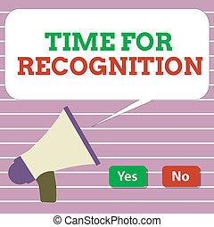 concept, acknowledgement, stimulus, tekst, interval, recognition., betekenis, tijd, handschrift, tussen, natuur