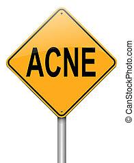 concept., acne