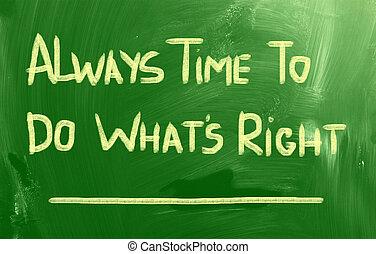 concept, always, est, droit, temps
