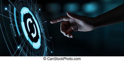 concept, amendement, informatique, business, mise jour, programme, technologie internet, logiciel