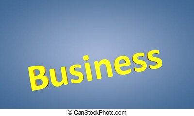 Business Strategy - Concept animation, Business Strategy.