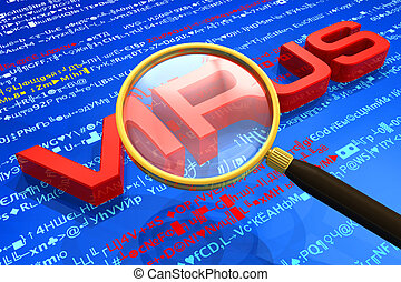 concept, antivirus, protection