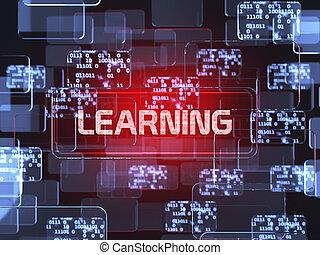 concept, apprentissage