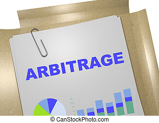 concept, arbitrage, business