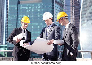 concept, architecture, ingénierie