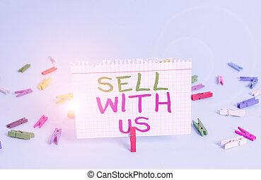 concept, arrière-plan., papier, regarder, écriture, plate-forme, commerce, texte, coloré, carrée, bleu affaires, lumière, ligne, rectangle, vente, vendeur, pince, vendre, mot, formé, électronique, us.