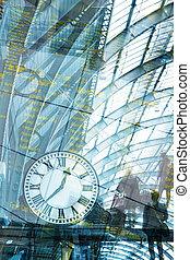 concept, art, clock., business, voyager