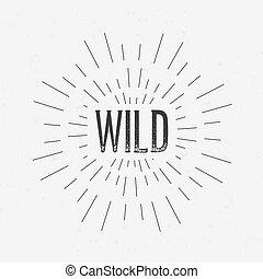concept, art, conception abstraite, étiquette, éléments, gabarit, toile, disposition, card., identité, isolé, créatif, fond, retro, logo, écusson, text., étiquettes, icône, mobile, encre
