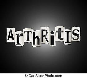 concept., arthrite