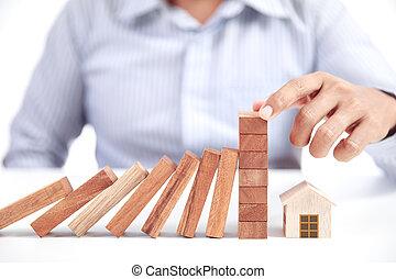 concept, assurance maison
