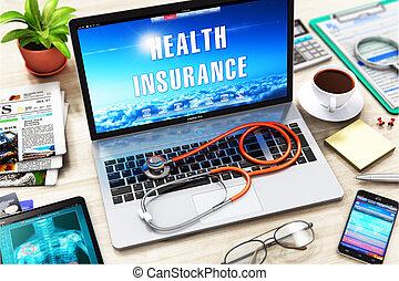 concept, assurance maladie