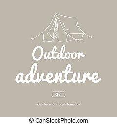 concept., außenabenteuer, adventure.travel