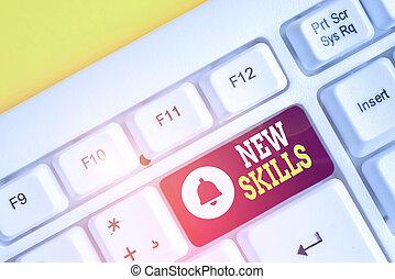 concept, au-dessus, nouveau, signification, papier, skills...