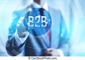 concept, b2b, business