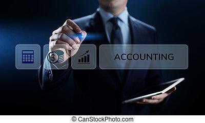 concept., bankovnictví, účetnictví, povolání, účetnictví,...
