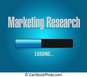 concept, barre, commercialisation, recherche, chargement, signe