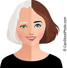 Concept beauty and rejuvenation of - Stock vector...