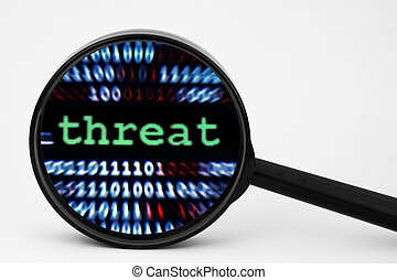 concept, bedreiging