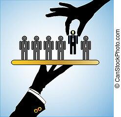 concept, best, kandidaat, keuze