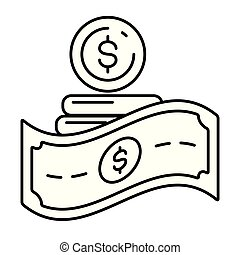 concept, betaling, online