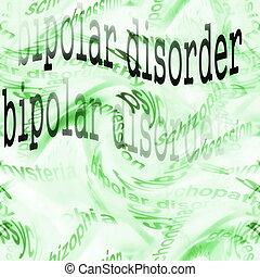 Concept bipolar disorder background, ( Manic depressive...