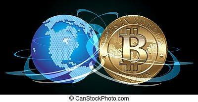 concept, bitcoin