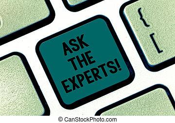 concept, blik, toetsenpaneel, tekst, steun, dringend, professioneel, schrijvende , idea., intention, betekenis, computer, handschrift, klee, toetsenbord, vragen, consultatie, boodschap, scheppen, raad, experts.