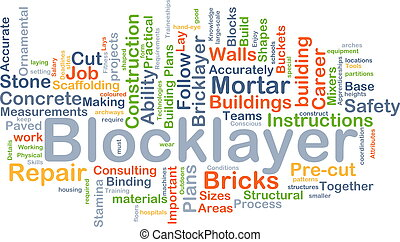 concept, blocklayer, fond