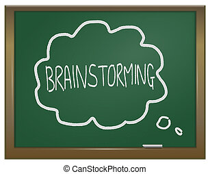 concept., brainstorming